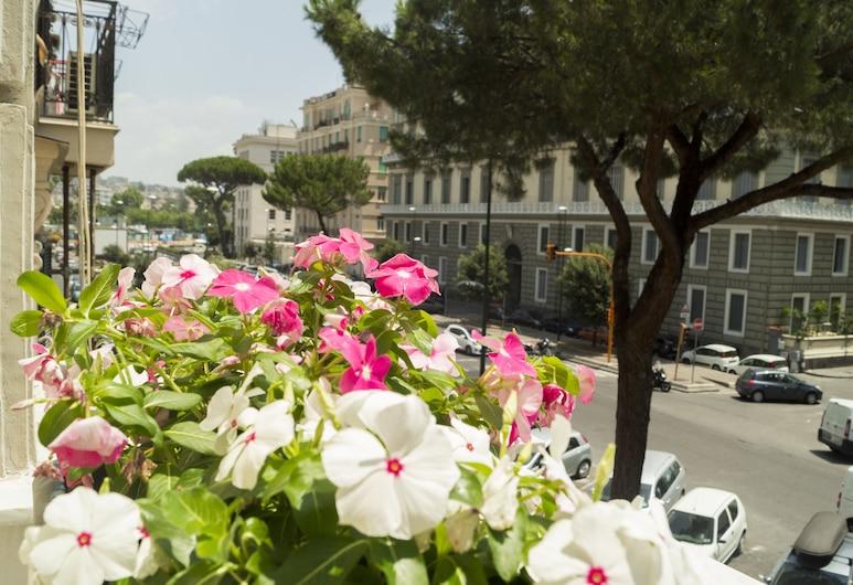 Royal Rooms, Napoli, Dobbeltrom – deluxe, 1 queensize-seng, balkong, Balkong