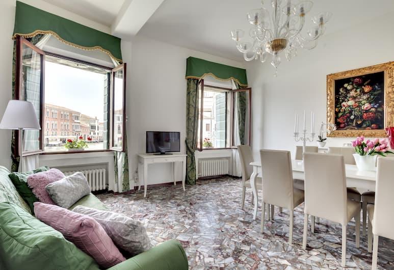 Grand Canal 1, Venetsia, Huoneisto, 2 makuuhuonetta, Oleskelualue