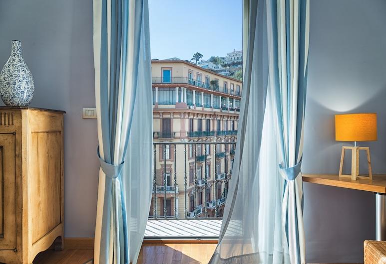 Casa d'AMare, Napoli, Rom – family, utsikt mot sjø, Utsikt fra gjesterommet