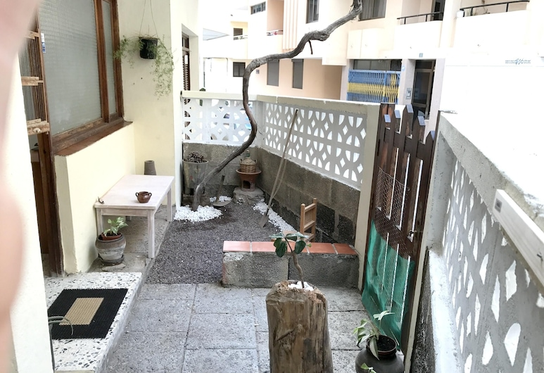 Studio in El Médano, With Enclosed Garden and Wifi - 100 m From the Beach, Granadilla de Abona, Terrasse/Patio