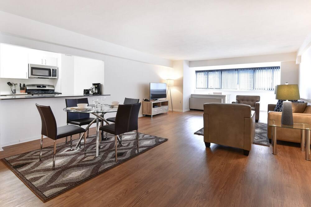 Luxusný apartmán, 2 spálne - Obývačka