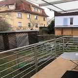 Standard Apartment, Ensuite, Garden View (Erdgeschoss mit Balkon) - Balcony View