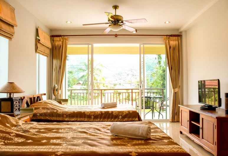 玫瑰之家酒店, Choeng Thale, 標準客房, 客房