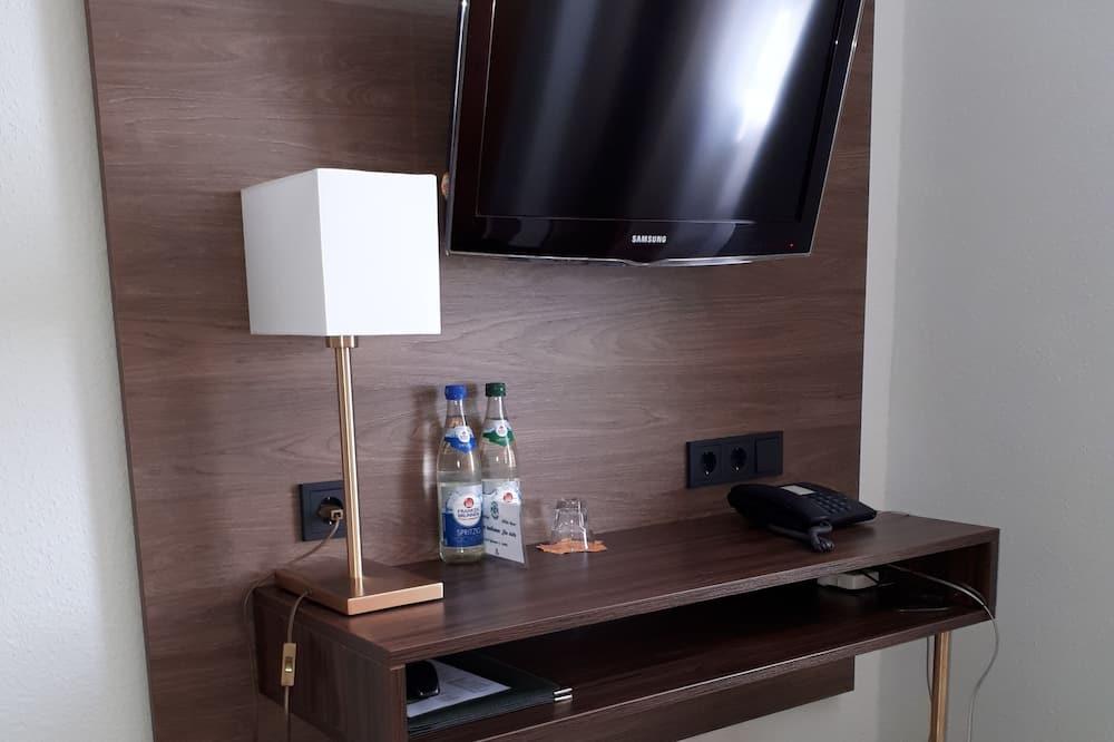 Двухместный номер «Комфорт» с 1 двуспальной кроватью - Зона гостиной