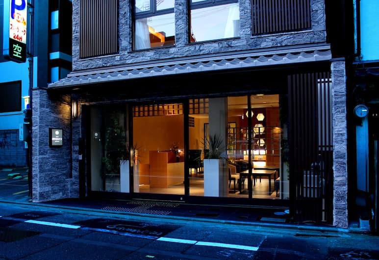 京都新町六角格蘭瑞普利酒店, Kyoto, 酒店入口 - 夜景