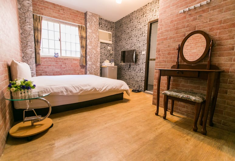Taichung Fengjia Yoho Hostel, Taichung, Elite Double Room, 1 Double Bed, Ensuite, Guest Room