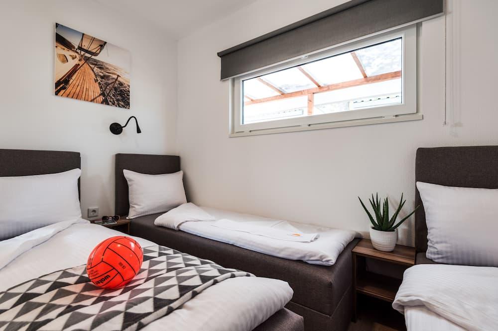 尊榮行動屋, 2 間臥室, 可使用泳池, 海濱 - 兒童主題客房