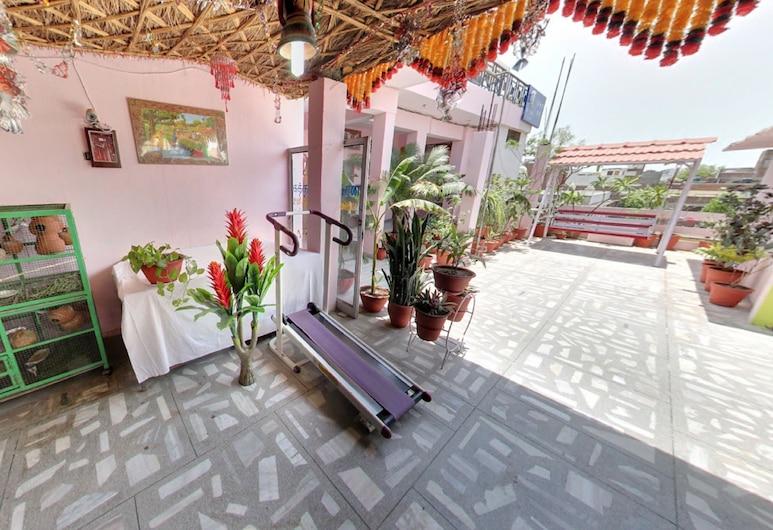 Hotel Jai Maa Palace, Jaipur, Quarto duplo luxo (with Cooler), Terraço/pátio
