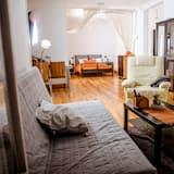 อพาร์ทเมนท์, 1 ห้องนอน, ระเบียง (Teatro Romano I) - ห้องนั่งเล่น