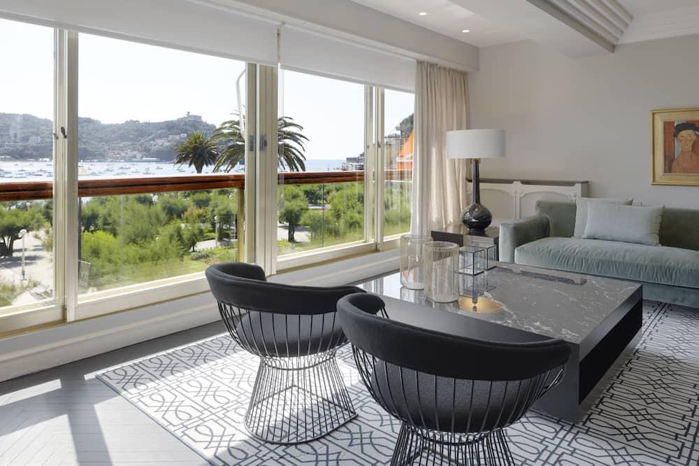 דירה, 3 חדרי שינה, מרפסת, נוף למפרץ - אזור מגורים