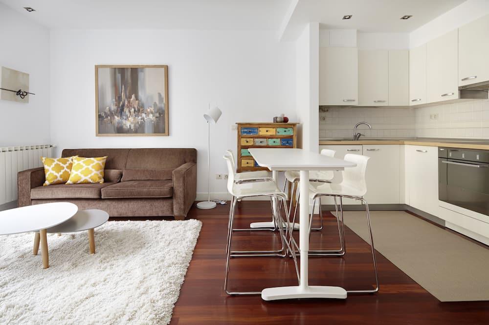 Huoneisto, 2 makuuhuonetta - Oleskelualue