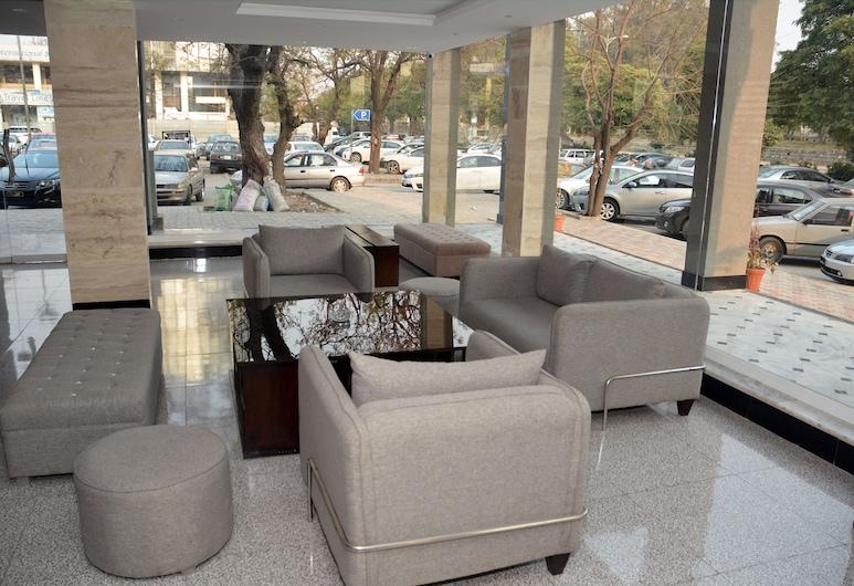 Hotel Redison Blue Area, Islamabad, Sitzecke in der Lobby