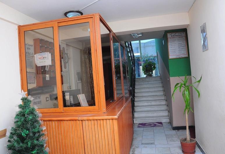 MM Apartment Guest House, Addis-Abeba, Entrée intérieure