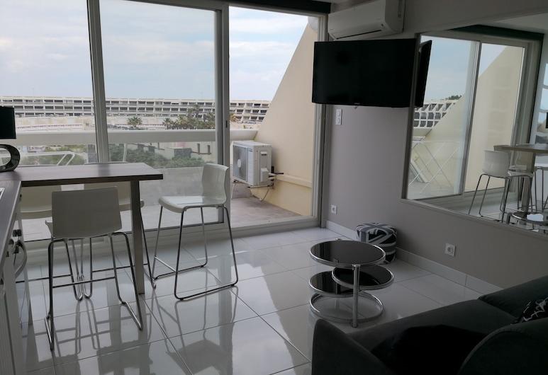 Appartement Heliopolis D, אגד, סטודיו, מרפסת