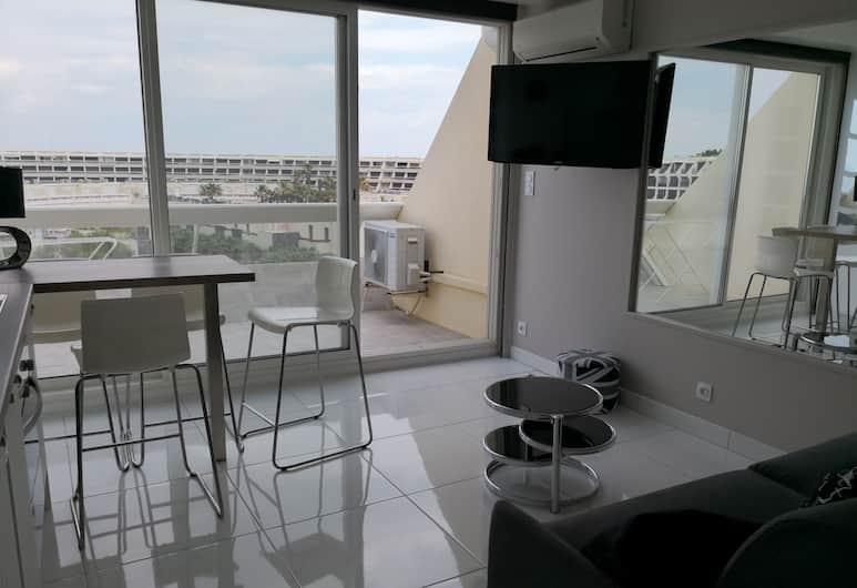 Appartement Helipolis D, Agde, Studio, Balkong