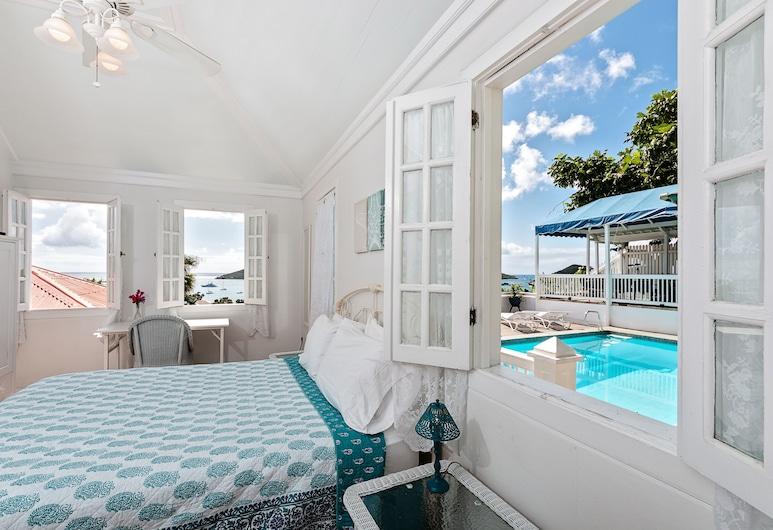 At Home in the Tropics B&B, St. Thomas, Habitación estándar, 1 cama Queen size, vista al puerto, Habitación