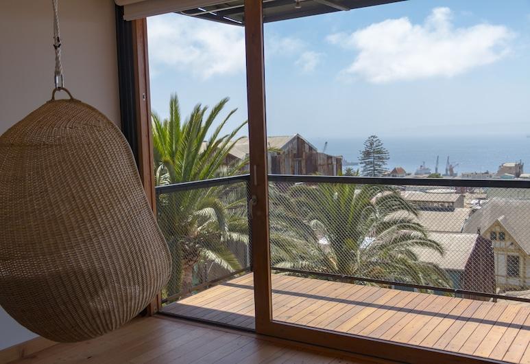 Augusta Apart Hotel, Valparaiso, Terrace/Patio
