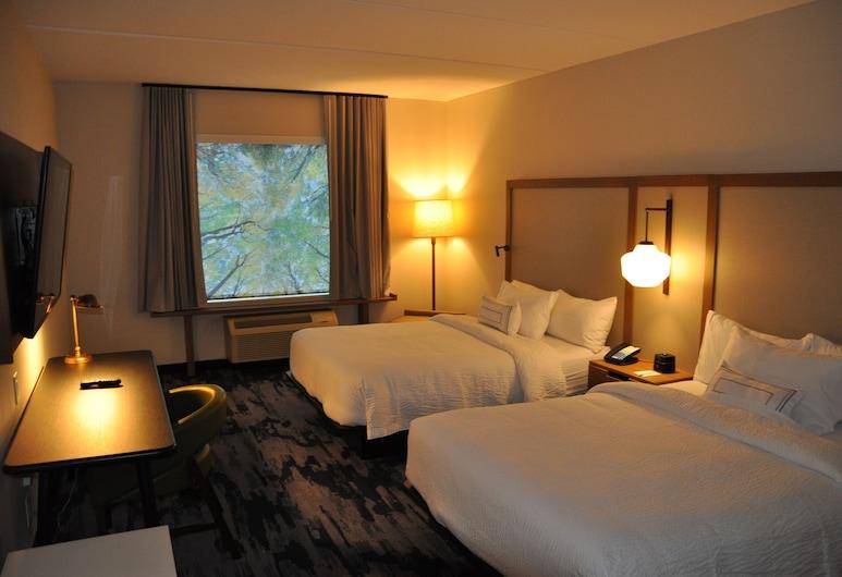 Fairfield Inn & Suites by Marriott Nashville Airport, Nashville, Room, 2 Queen Beds, Guest Room