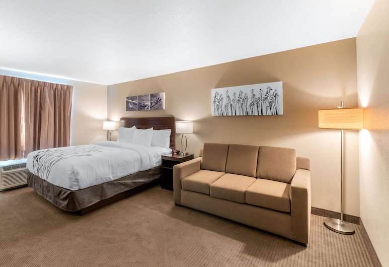 Sleep Inn & Suites Denver International Airport, Denver, Apartmá, dvojlůžko (200 cm), nekuřácký (Upgrade), Pokoj