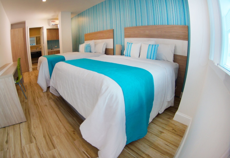 Aqualina Inn, San Andres, Room, 2 Queen Beds, Guest Room