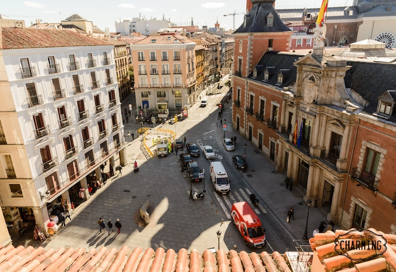 Charming Madrid Plaza, Madrid, Apartment, 2 Bedrooms, City View, City View