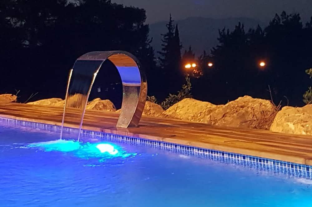 Deluxe Suite, 1 King Bed (with pool) - Тераса/внутрішній дворик