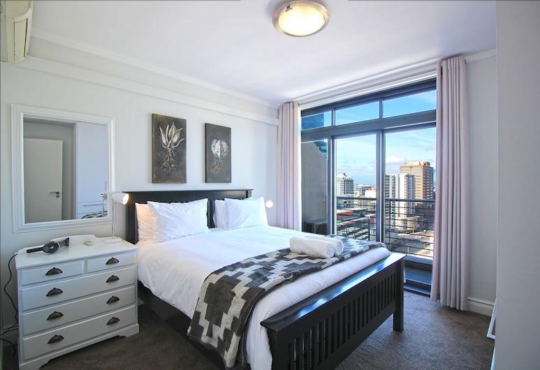 キーサイド 1402, ケープタウン, コンフォート アパートメント 2 ベッドルーム バルコニー シティビュー, 部屋
