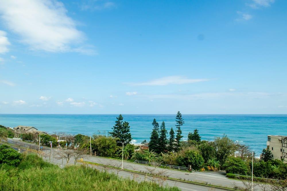 Чотиримісний номер «Делюкс», з видом на море - Вид з балкона