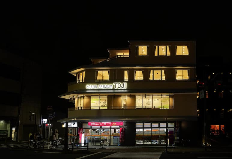 THE GARDEN-Hotel premium To-ji - Hostel, Kyoto, Pročelje hotela – navečer/po noći
