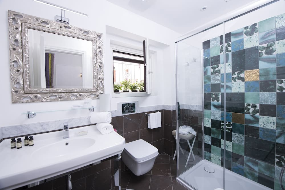 Deluxe-dobbeltværelse - balkon - Badeværelse