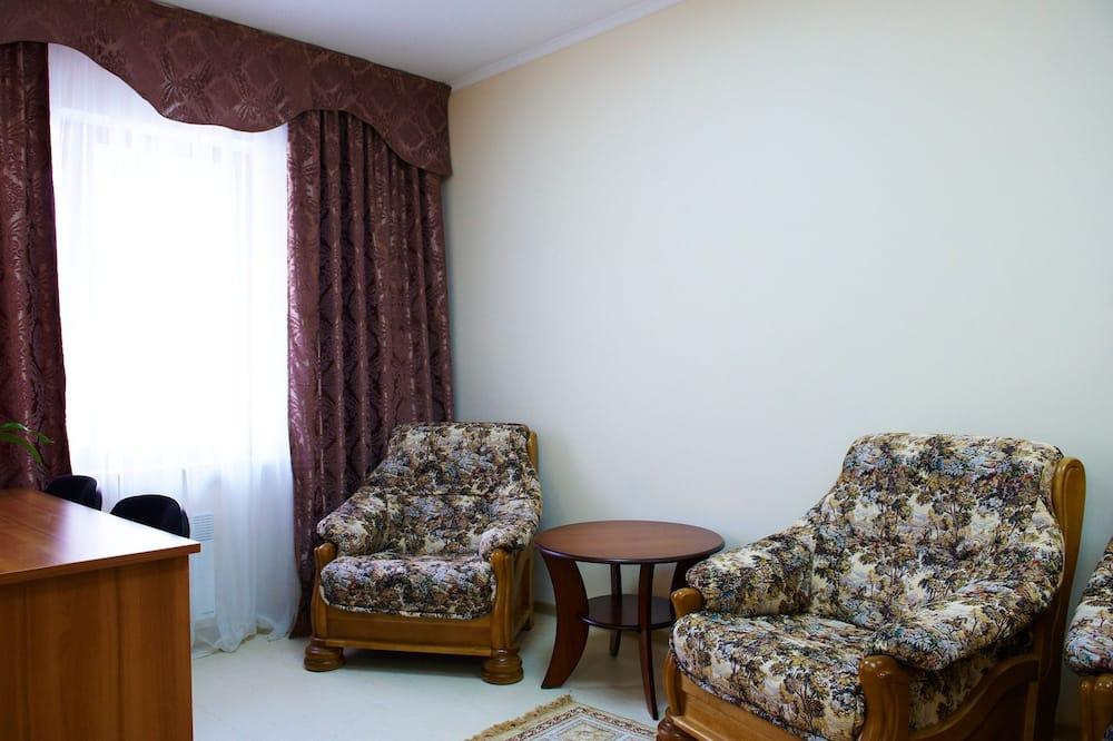 Suite, junto a la montaña - Sala de estar
