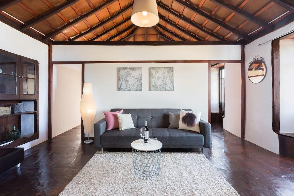 Villa, 3 habitaciones, vistas al mar - Sala de estar