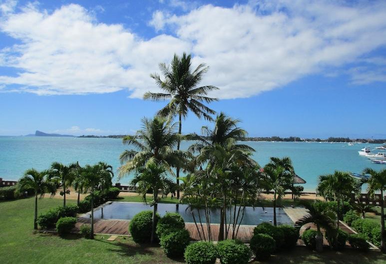 皮耶德當魯別墅酒店, Grand-Baie, 室外泳池