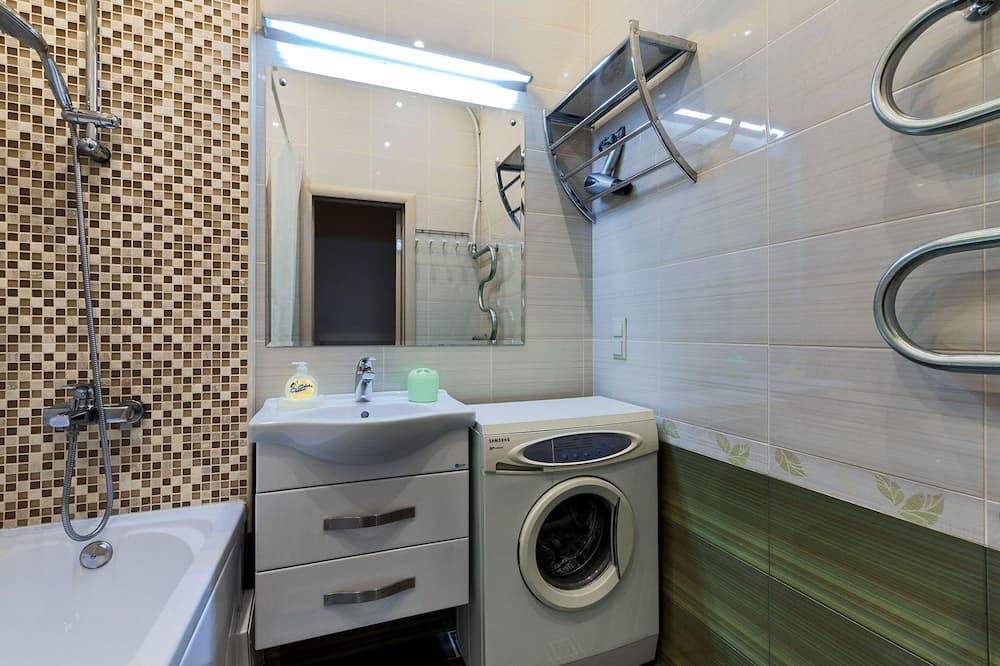 Business-Apartment, 1 Schlafzimmer - Badezimmer