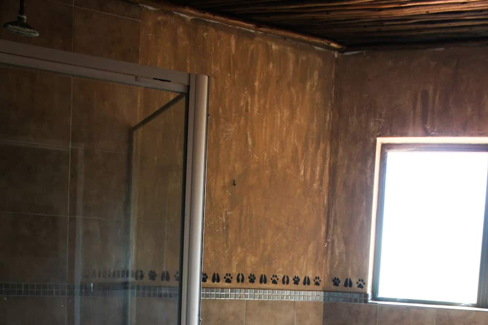 Chalet, 2Schlafzimmer, Nichtraucher, Gartenblick - Badezimmer