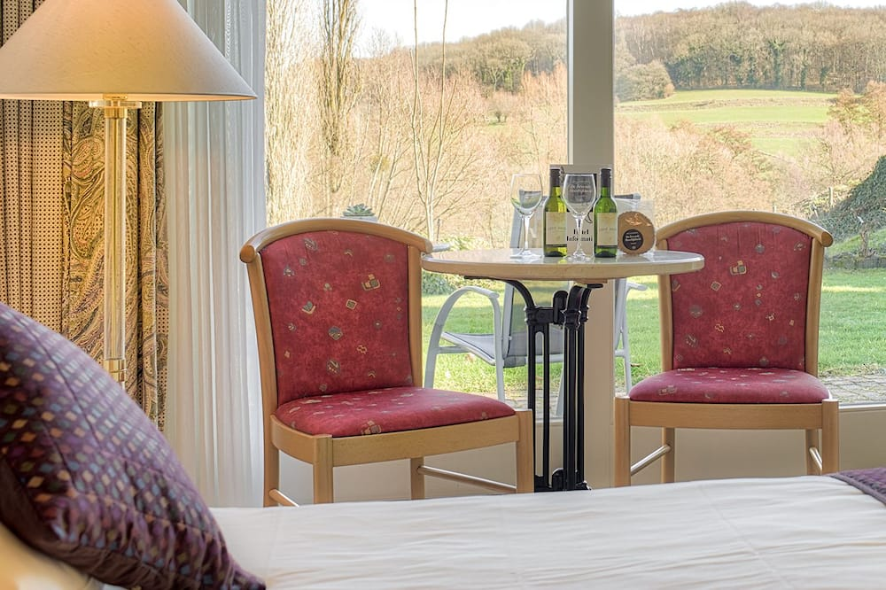 Deluxe-dobbeltværelse - terrasse - have-område - Udsigt fra værelset