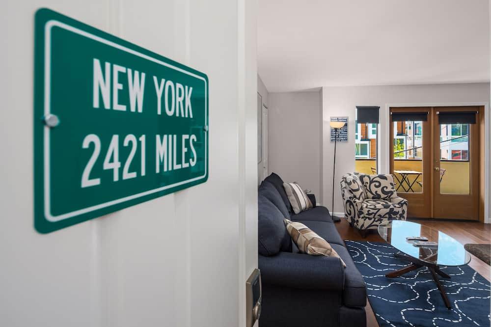 豪華公寓客房, 2 間臥室, 2 間浴室 - 客廳