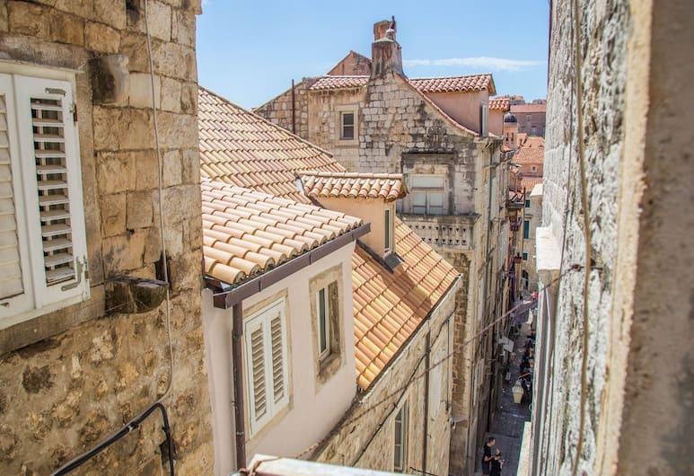 Guest house Jeljenic, Dubrovnik, Quarto casal, Banheiro compartilhado, Vista (do quarto)