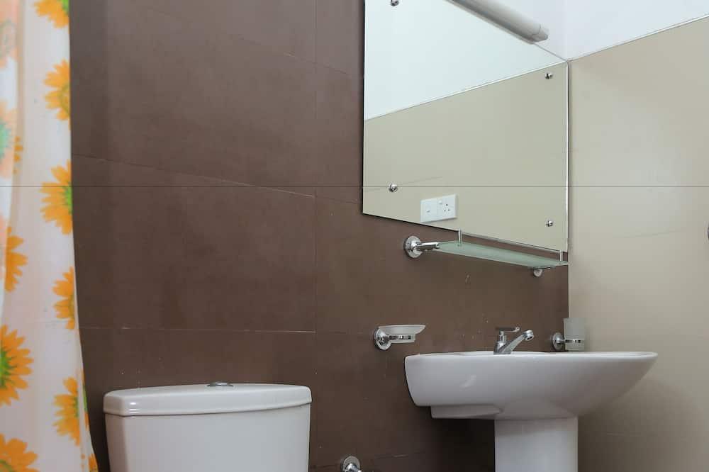 Vila typu Deluxe, dvojlůžko (200 cm), nekuřácký, výhled na moře - Koupelna