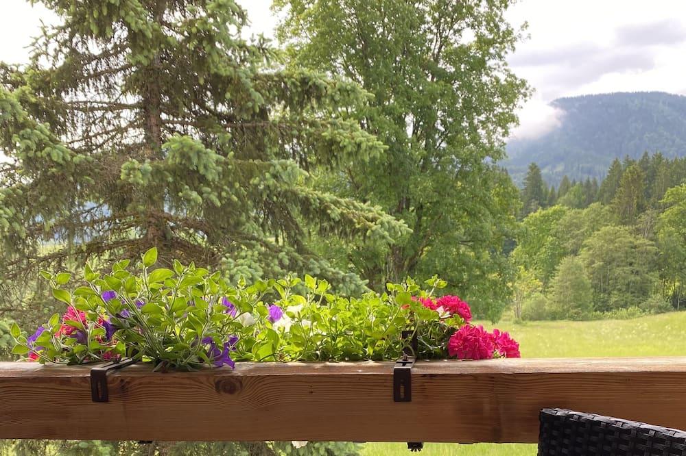 Dvoulůžkový pokoj - Výhled z balkonu