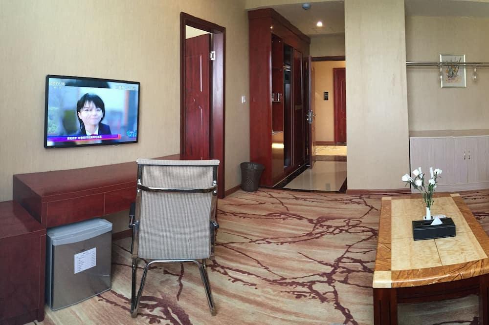 Pusluksusa numurs - Dzīvojamā istaba