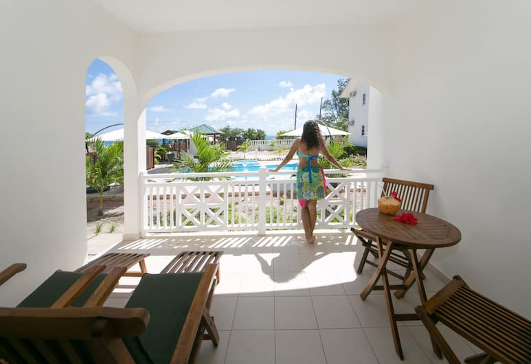 Villa Koket, Mahe Island, Standard Apartment, 1 Bedroom, Smoking, Sea View, Terrace/Patio