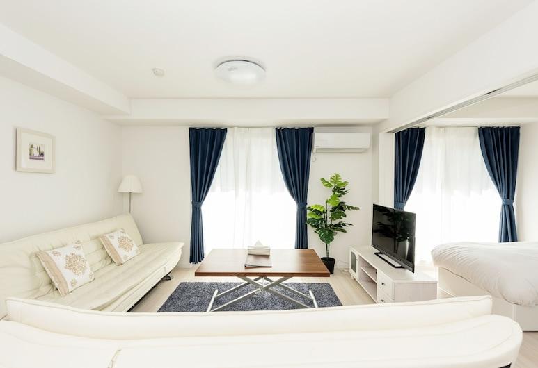 東京住宿櫻花淺草六號飯店, 東京, 公寓 (Double Bedroom), 客廳