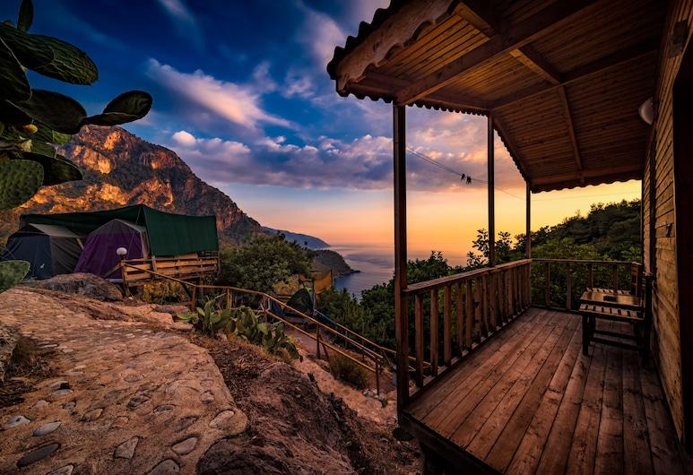 Fullmoon Camping, Fethiye, Bungalow, 1 Bedroom, Sea View, Bilik Tamu