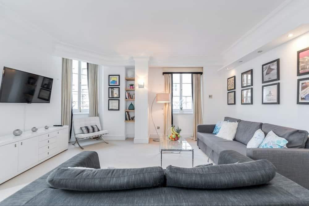 Пентхауз категорії «Комфорт», 2 спальні, з видом на місто - Житлова площа