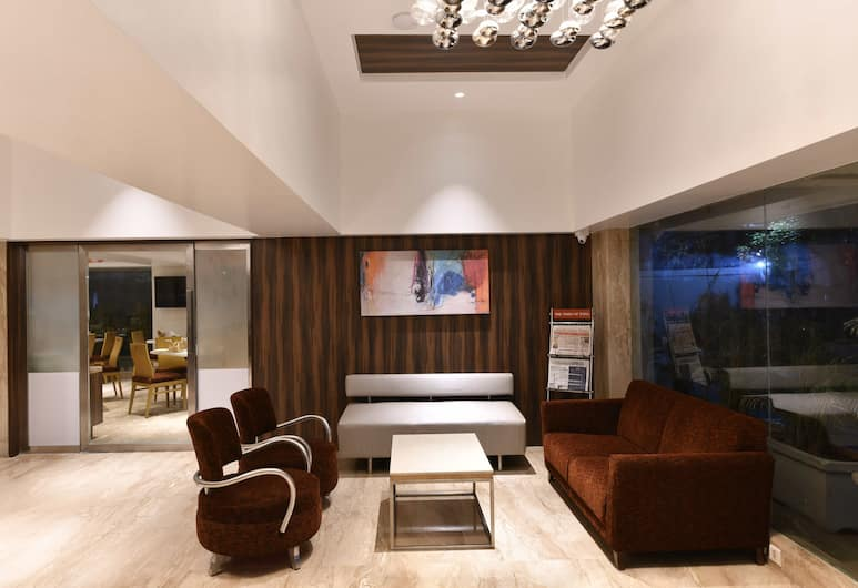 Hotel Leafio Marigold Marol, Mumbai, Prostor za sjedenje u predvorju
