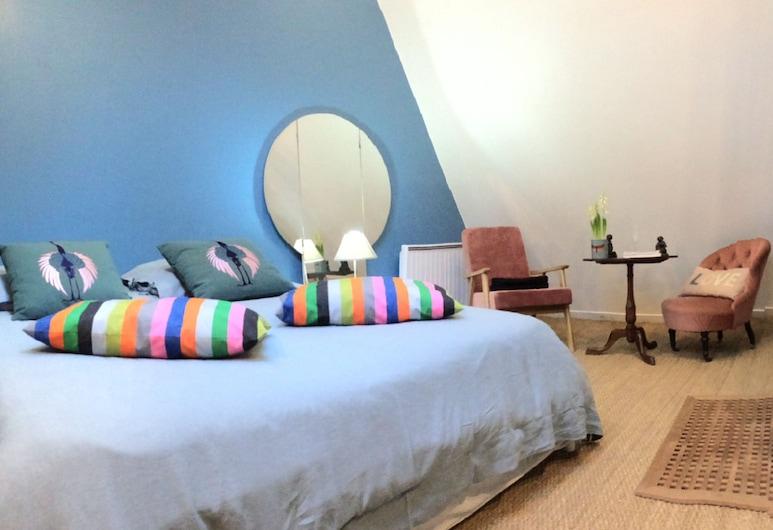 Le Pigeonnier, Croix, Deluxe szoba kétszemélyes ággyal, 1 king (extra méretű) franciaágy, Vendégszoba