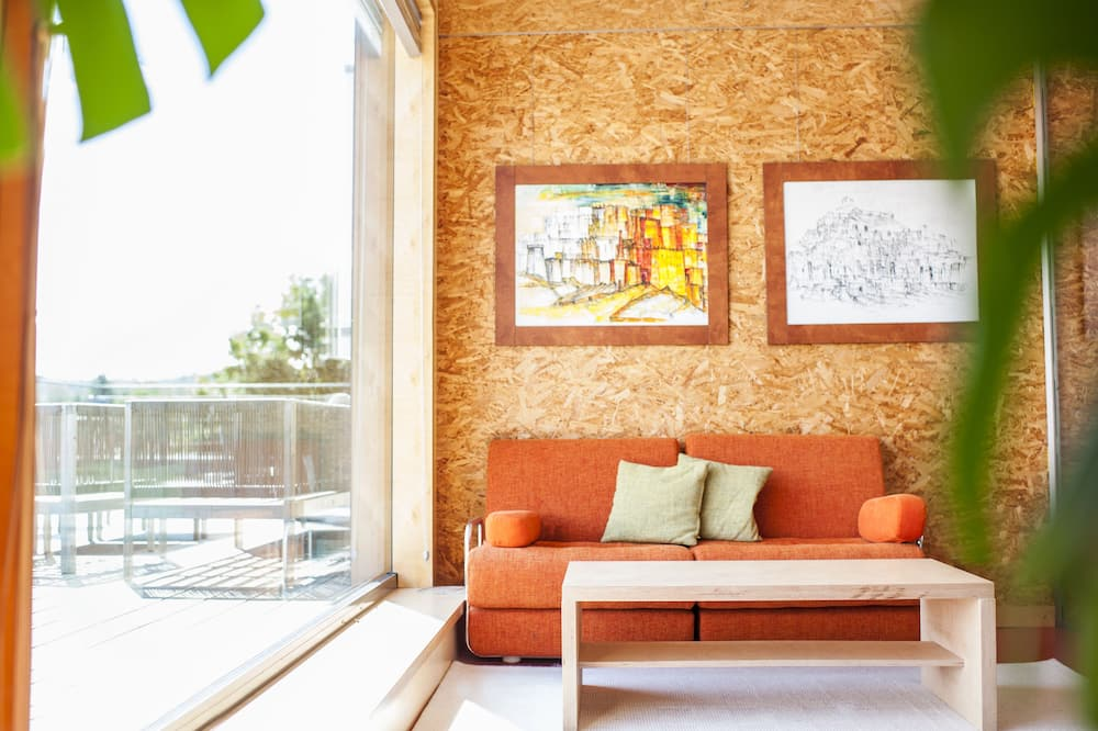 Penthouse, 2 slaapkamers, terras - Woonruimte