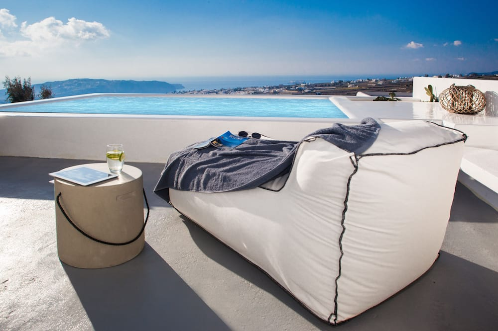 Suite superior, piscina privada, vista al mar - Imagen destacada