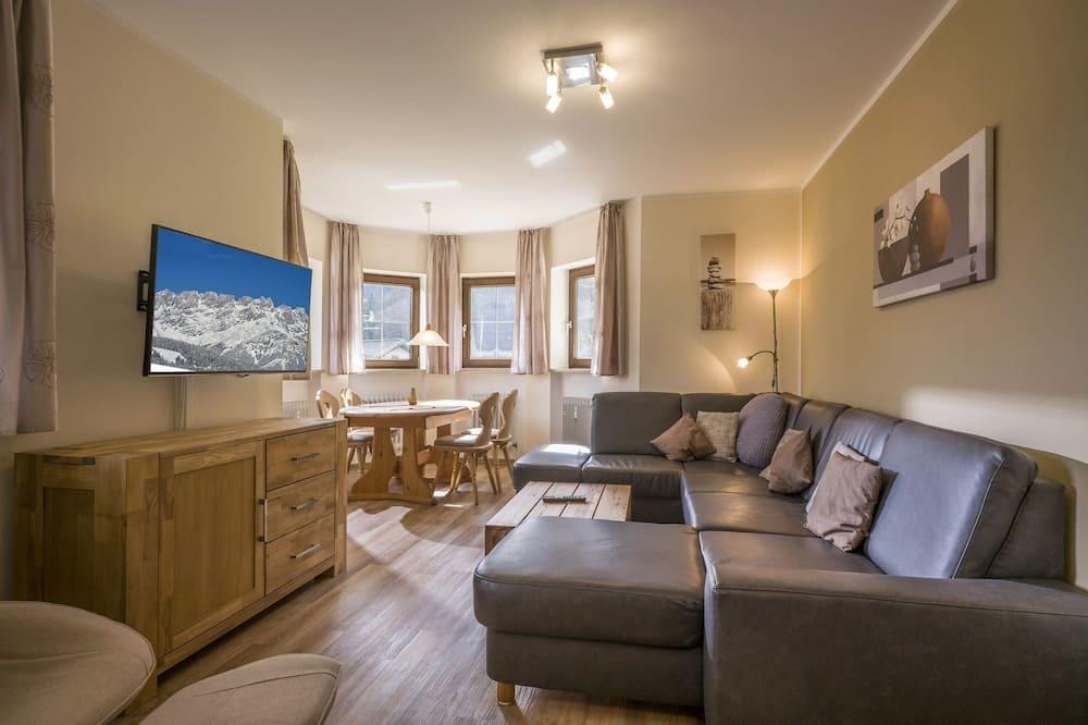 Apartamentai, 1 miegamasis, terasa (Ferienwohnung 5) - Kambarys